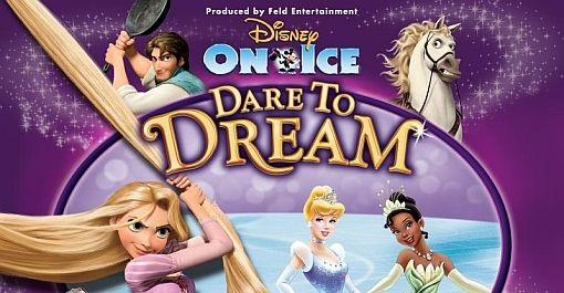 Disney On Ice Presents Dare to Dream at Wright State University's Nutter Center