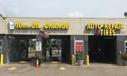 Finish Line Oil Change & Auto Repair