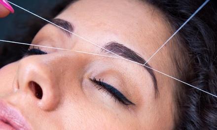 Eyebrow Threading & Makeup by HK