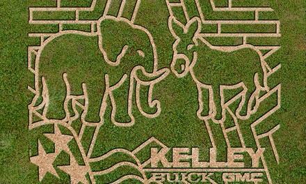 CornFusion Corn Maze