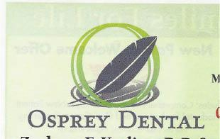 Kesling, Zachary F, Dds - Osprey Dental