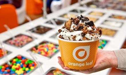 Orange Leaf Frozen Yogurt