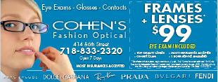 Cohen's Fashion Optical - Queens Center Mall
