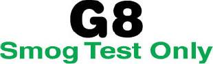 G-8 Smog Test Only