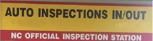 Auto Inspections In/Out
