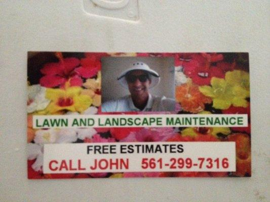 Lawn and Landscape Maintenance