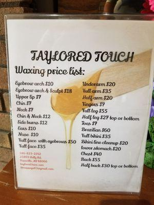 Taylor'ed Touch Massage