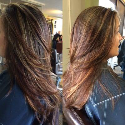 Hair by Cecily at XOXO Salon