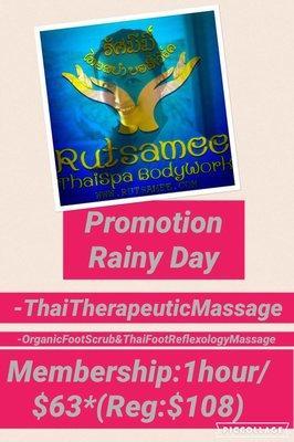 Rutsamee Thai Spa BodyWork