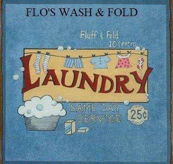 Flo's Wash and Fold Laundry Service