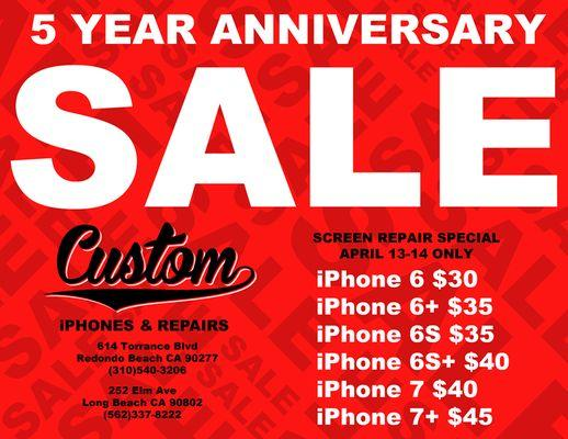 Custom iPhone & Repairs