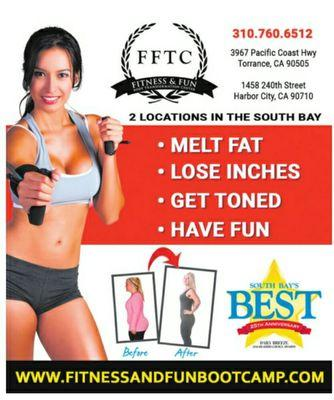 South Bay Fitness Boot Camp, Torrance CA