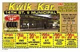 Kwik Kar 578-