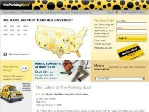 Parking Spot/dallas Love Field