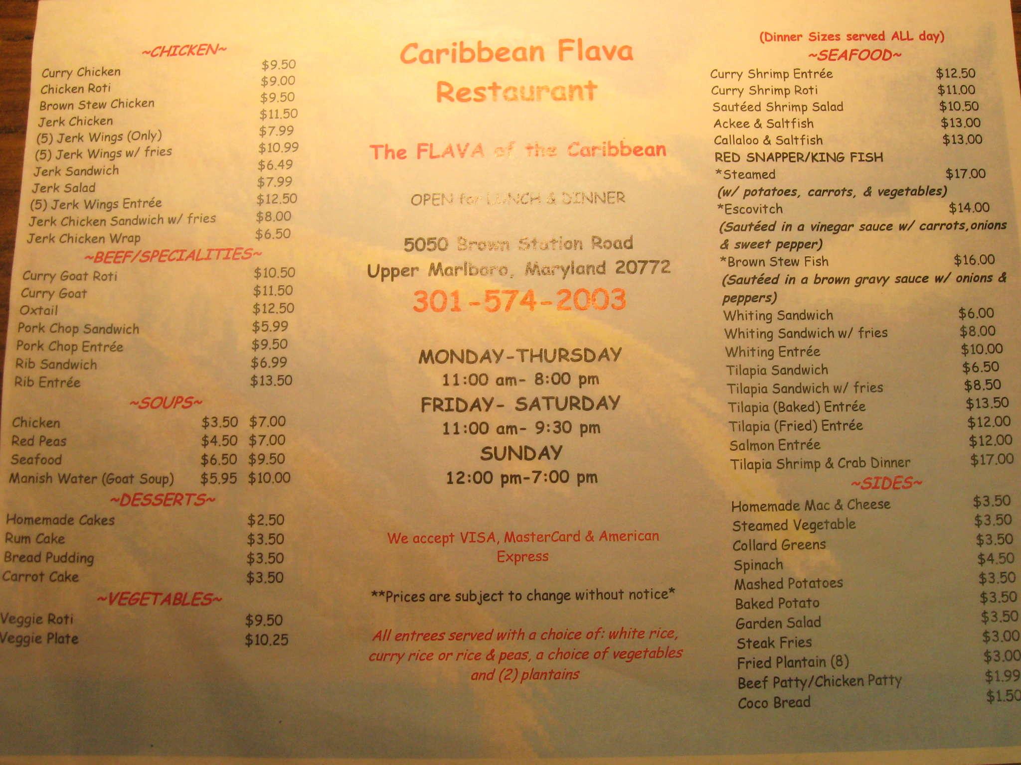 Caribbean Flava