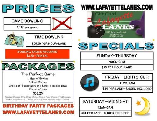 Lafayette Lanes