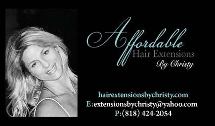 Hair Extensions Encino Ca. - Mobile Service- (818) 424-2054