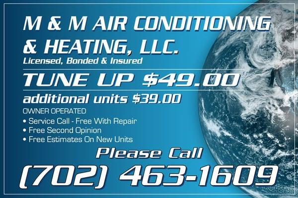 M & M Air Conditioning & Heating