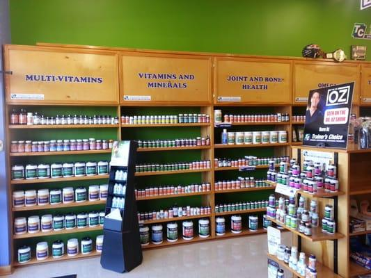 Trainer's Choice Vitamin Supplements & Nutritional