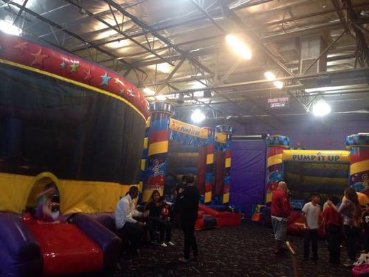 Pump It Up! The Inflatable Party Zone