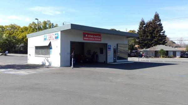 martinez smog station