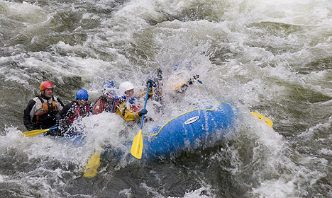 Pacific Northwest White Water Excursions