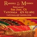 Rangoli and Mehndi
