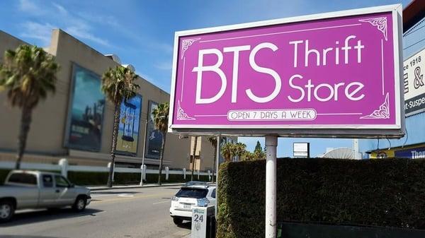 BTS Thrift Boutique