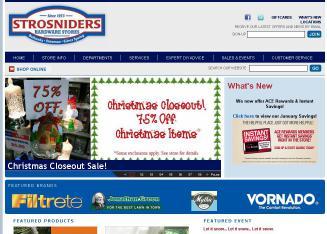 Strosniders Hardware Stores