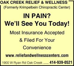 Oak Creek Relief & Wellness