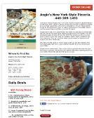 ANGIE'S NEWYORK STYLE PIZZERIA