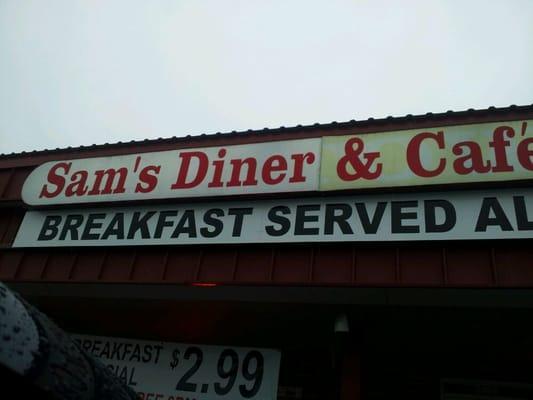 Sam's Diner And Cafe