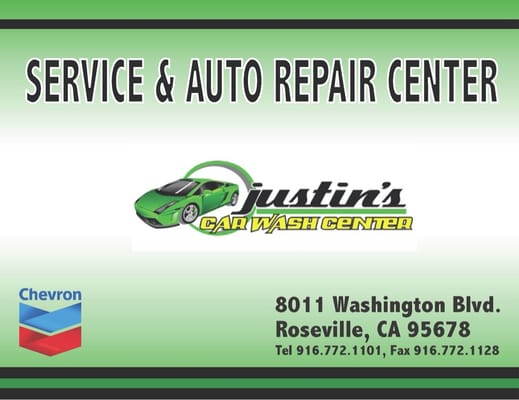 Justin's Carwash & Detail Center