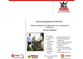 KING AIR CONDITIONING, INC