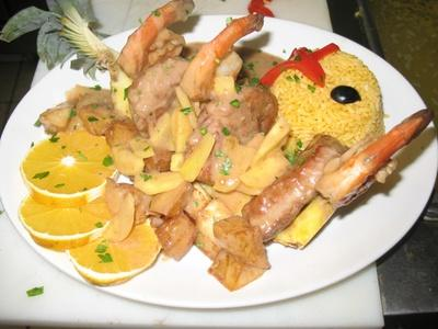 Spanish Potato Grill