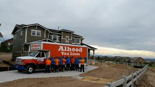 Alhood Van Lines , Denver Movers, Moving company
