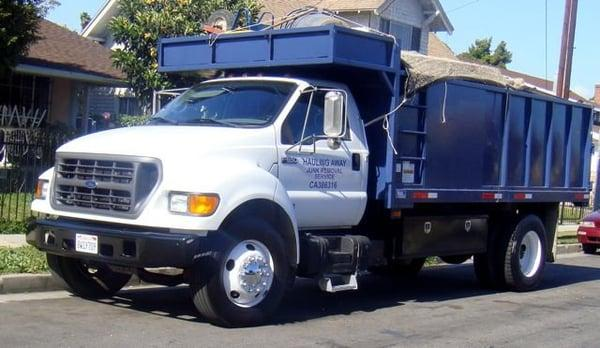 Hauling Away: Junk Removal Service