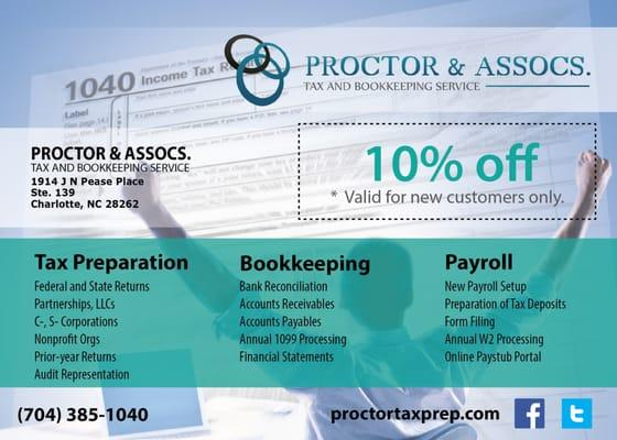 Proctor & Assocs. Tax and Bookkeeping Service, Inc.