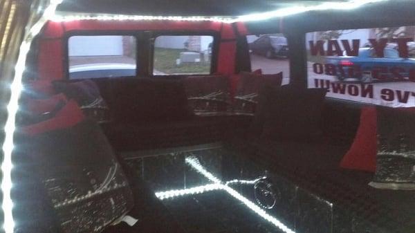 Columbia Party Van