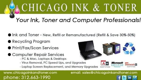 Chicago Ink && Toner