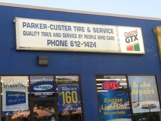 Parker Custer Tire & Service