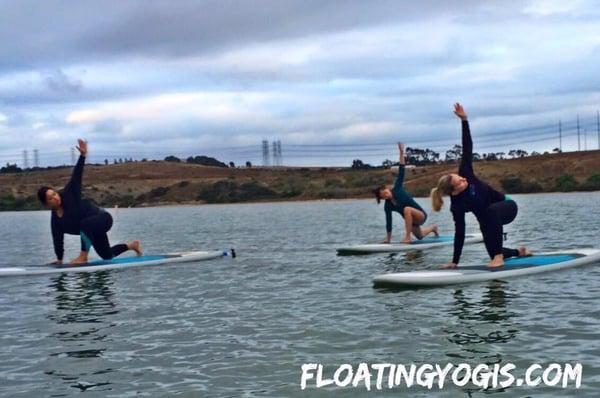 Floating Yogis