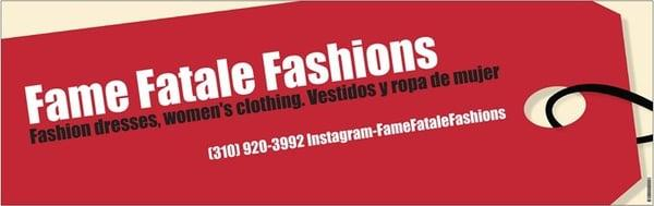 Fame Fatale Fashions