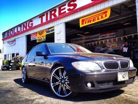 Rolling Tires and Wheels