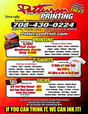 Patterson Printing & Graphics