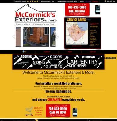 McCormick's Exteriors