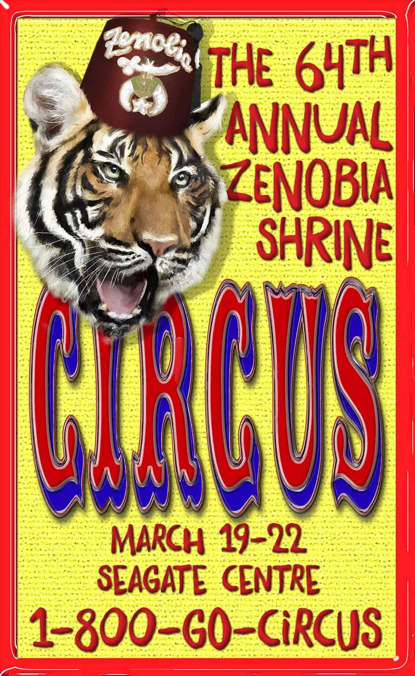 ZENOBIA SHRINE CIRCUS