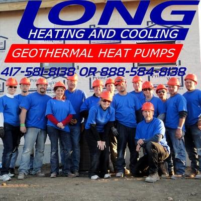 Long Heating, Cooling and Geothermal