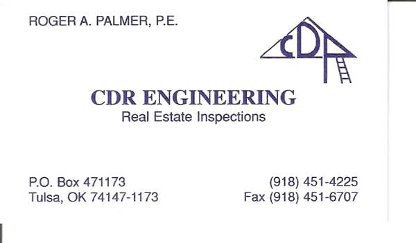 Cdr Engineering Inspections