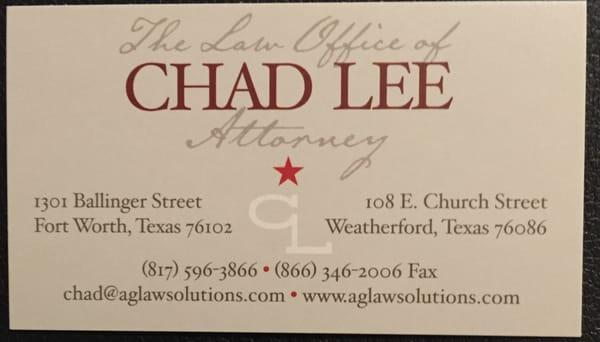 The Law Office of Chad Lee